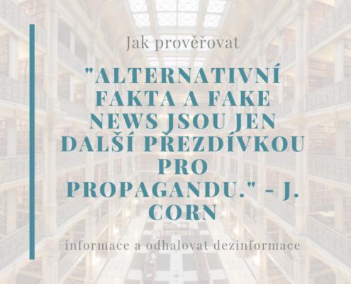Fake news jako propaganda